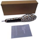 Nasv ! ! ! Affichage LCD Leopard Imprimer Hair Straightener brosse/Comb