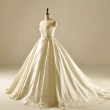 Платье венчания мантии шарика Sequin Saitn Bridal