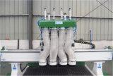 Router di legno pneumatico 1325 di CNC di Atc delle 4 teste da vendere