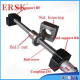Gerolde Ballscrew voor X, Y Z CNC Machine