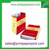 OEM Custom luxe cadeau d'achats de papier Kraft Sac cosmétique