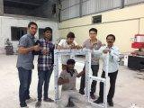 Máquina de estaca de alumínio do perfil de Bohman a fazer o painel solar