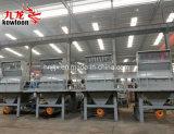 Logs/sucursales, paletas de residuos de trituración de aserrín de aserrín de la línea de producción de la línea de decisiones
