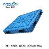 1400X1100 soprando palete de plástico, paletes de plástico de dupla face, paletes de plástico de HDPE