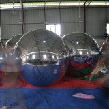Spiegel-Tuch mit feuerfestes Stadiums-aufblasbarer Spiegel-Kugel