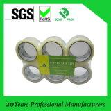 Comercio al por mayor de cartón de embalaje sellado transparente cinta adhesiva de BOPP