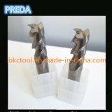 Carburo de tungstênio Processamento de alumínio CNC End Mills 2/3 Flautas