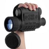 Bestguarder 6X50 Digital Night Vision Monocular 350m de alcance com 1,5'' LCD TFT de 5MP à prova de água IPX4