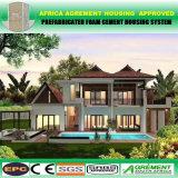 아름다운 편리한 빠른 건축 빛 강철 구조물 모듈 조립식 집