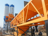 Stationaire Concrete het Mengen zich Installatie met de Dubbele Apparatuur van de Bouw van Mixers