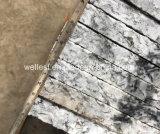 現実的なG418波の壁の床のクラッディングのカバーのための白い灰色の花こう岩のタイル