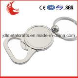 Kundenspezifische preiswerte Zink-Legierungs-Aluminiumflaschen-Öffner Keychain
