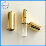 Cubierta de aluminio Cristal Atomizer Botella de Perfume Spray dosificador recargables