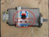 Factory~Genuine小松のダンプトラック機械Hydポンプ: HD255-5. Wa420-3. Wa400-3エンジンSA6d125-2油圧ギヤポンプ: 705-52-30360予備品