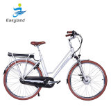 최고 Quite 700cc Electric Bicycle 36V 10.4ah SANYO Battery