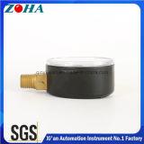 6 manomètres généraux en acier de la barre DIN avec le connecteur en laiton 2 pouces 2.5 po. de diamètre