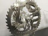 ステンレス鋼の銀の金属の管CNCのファイバーレーザーの打抜き機