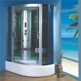 Cabine Offset do chuveiro do frame do projeto do banheiro do canto da alta qualidade