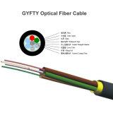 Cabo ótico de cabo pendente FTTH da fibra de Gjxh