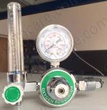 Regolatore di pressione dell'ossigeno per i cilindri di ossigeno medici dell'ospedale