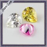 De diamant sneed het Buitensporige Zirkoon van de Halfedelsteen van de Vorm Synthetische