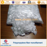 4mm Polypropylen-Einzelheizfaden-Faser für trockenen Mörtel