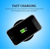 Teléfono móvil inteligente de energía Qi Gadget portátil cargador inalámbrico de viaje habilitado para el Samsung Galaxy S6