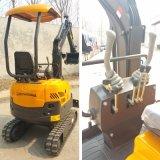 Mini excavador Xn16 del rinoceronte con el motor de Yan marcha