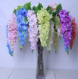 Chorando Artificial Hortênsia Flower, Hortênsia Flor decorativa de casamento