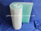 Filtro de piso de fibra de vidrio, pintura deja de filtro, Recuperador de pintura