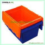 scomparto di plastica mobile accatastabile solido del coperchio dell'attaccatura di obbligazione 65L
