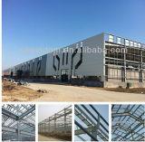 El SGS aprobó el material de construcción ligero de la estructura de acero para el diseño del almacén