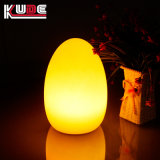 Tabela de ovo recarregável Lâmpada lâmpada de mesa Alteração da cor da lâmpada de decoração
