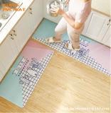 Tapis de bureau écologique confortable lavable, Président de tapis, de tapis de plancher, tapis de cuisine