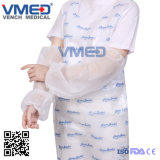 PE/PP jetable/CPE/plastique/Transparent/manchon non tissé de couvrir d'approvisionnement médical chirurgicale manchon en plastique pour couvrir les femmes ou hommes foe l'utilisation de la sécurité