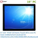 Cjtouch 19inch Rk3288 Mainboard raakt allen in Één LCD van de Tablet van PC Androïde Signage van de Reclame van de Vertoning