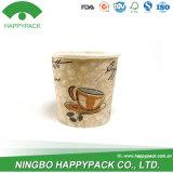 Funda impresa Customzied de calidad superior de la taza de papel de la venta caliente