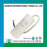 Weißer Kondensator 45UF 450V 10UF des Plastikfall-Cbb60