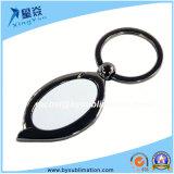 Spezieller ovaler Form-Leerzeichen-Metalschlüsselring