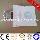 120W Solar Street Light All in One Modelo integrado com 8m 9m 10m Light Pole