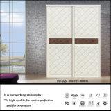 Conception personnalisée d'armoires avec porte coulissante en PVC