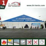 barraca de alumínio Salão da estrutura do PVC do frame da extensão do espaço livre de 40X100m para a feira profissional