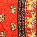 Hot Sale éléphant IMPRIMÉ Tissu de rayonne à partir d'usine de textile