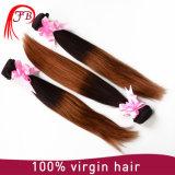 Pacotes brasileiros do cabelo reto do cabelo 1b/33 Ombre de Remy do Virgin