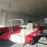 2.4m-5.2m Liya Hypalon inflable Costilla Barco de China