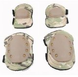 Cp Camouflage Ajustable Tactical Safety Protective Knee + Coudes