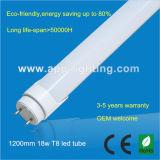 2835 1800mm SMD LED Lâmpada tubo 27W