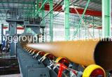 Máquina del chorreo con granalla para la pared externa del tubo de acero