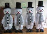 Hi fr71 Robe formelle Snowman Mascot Costume