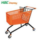 새로운 슈퍼마켓 플라스틱 쇼핑 트롤리